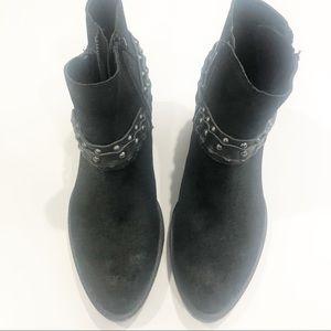 Crown Vintage Shoes - Crown Vintage Wendy Western Ankle leather boot 10M